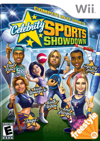 Celebrity Sports Showdown - Nintendo Wii [USED]