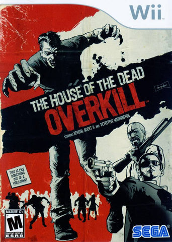The House of the Dead: Overkill - Nintendo Wii [USED]