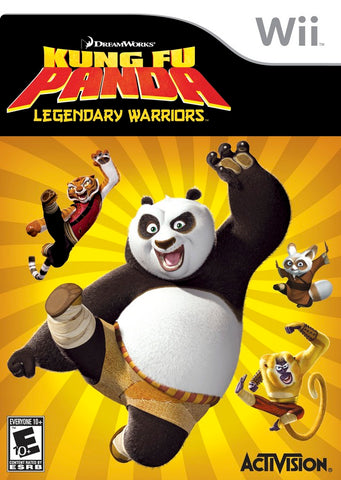 DreamWorks Kung Fu Panda: Legendary Warriors - Nintendo Wii [USED]