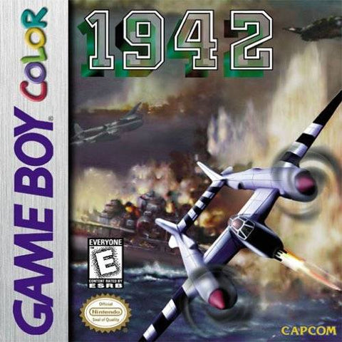 1942 - Game Boy Color (STG, 2000, US )