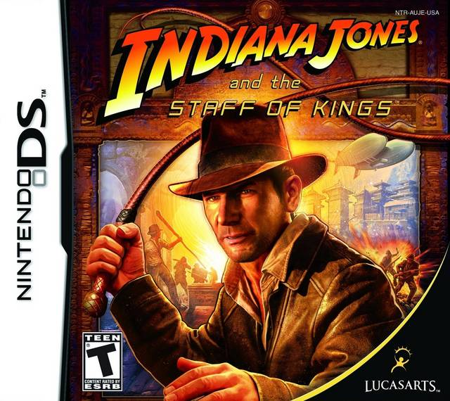 Indiana Jones and the Staff of Kings - Nintendo DS