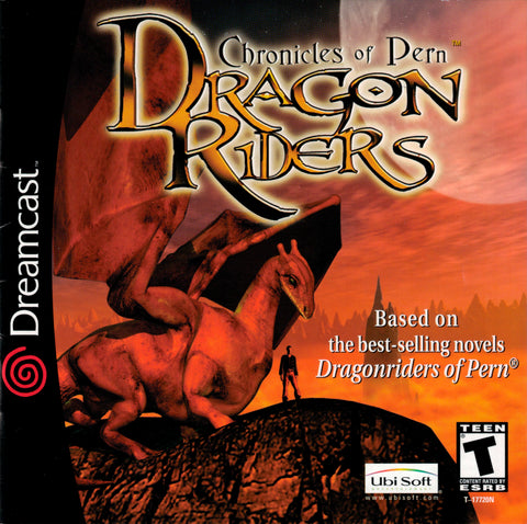 Dragon Riders: Chronicles of Pern - SEGA Dreamcast (RPG, 2001) [USED]
