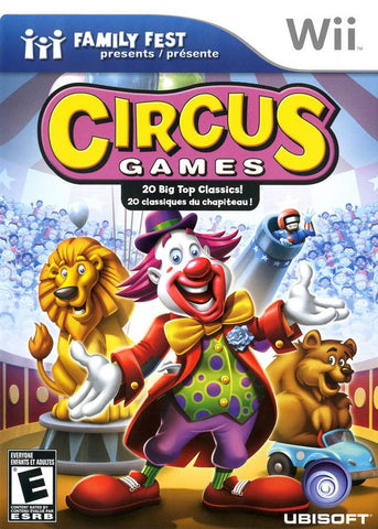 Family Fest Presents Circus Games - Nintendo Wii [USED]