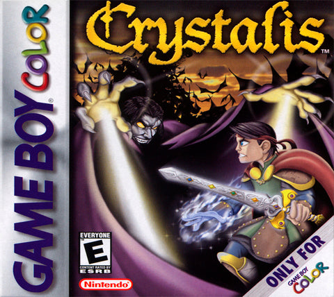 Crystalis - Game Boy Color (ARPG, 2000, US )