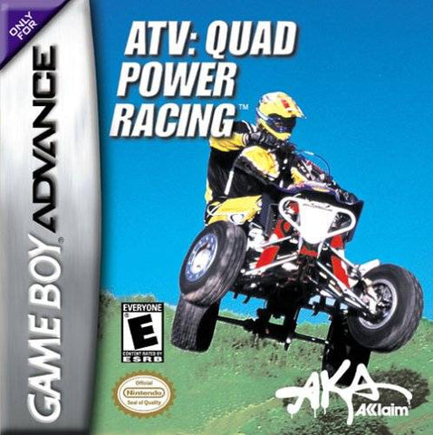 ATV: Quad Power Racing - Game Boy Advance (RAC, 2002, US )