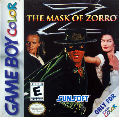 The Mask of Zorro - Game Boy Color [USED]