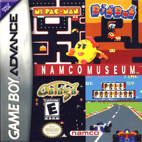 Namco Museum - Game Boy Advance [USED]