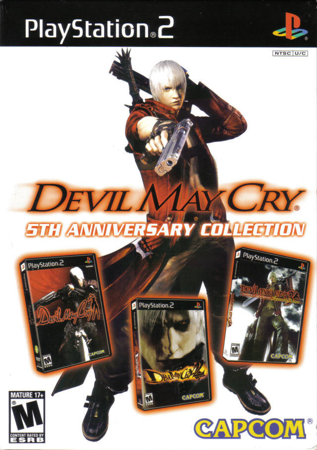 Devil May Cry: 5th Anniversary Collection - PlayStation 2