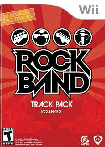 Rock Band: Track Pack - Volume 2 - Nintendo Wii [NEW]