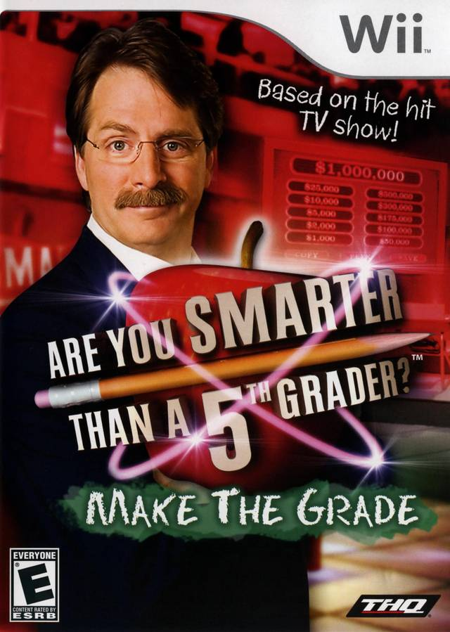 Are You Smarter Than a 5th Grader: Make the Grade - Nintendo Wii [NEW]