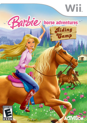 Barbie Horse Adventures: Riding Camp - Nintendo Wii [USED]