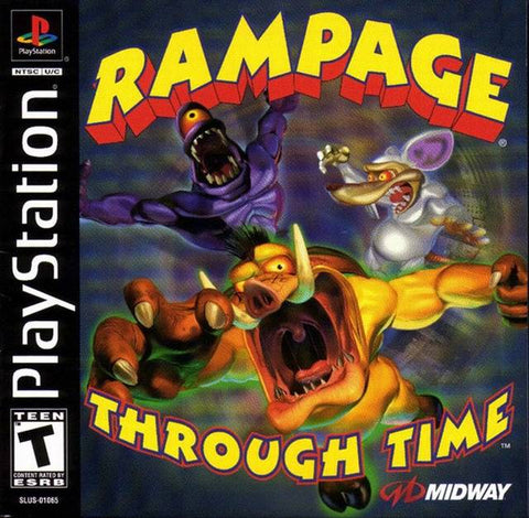 Rampage Through Time - PlayStation