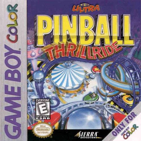 3-D Ultra Pinball: Thrillride - Game Boy Color [USED]