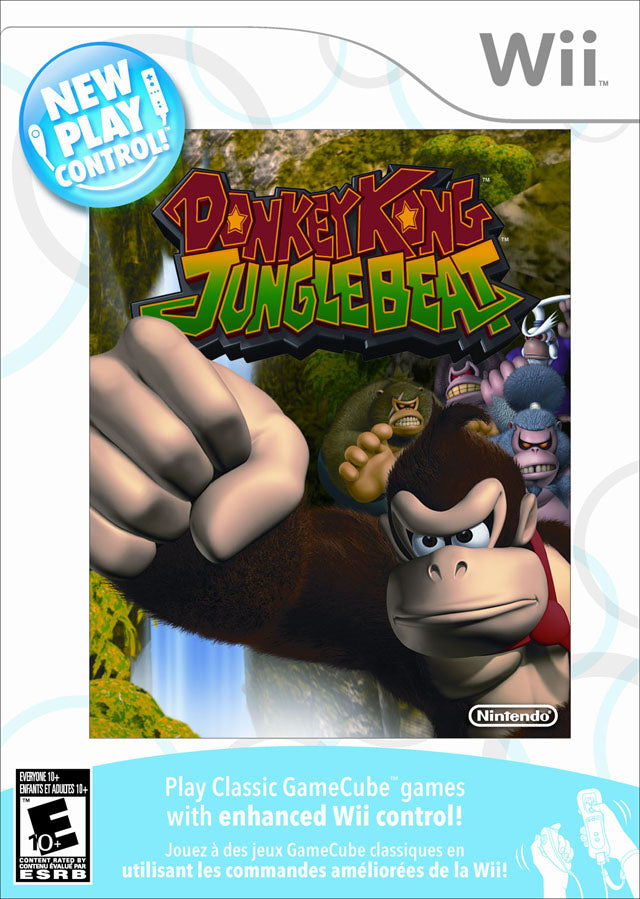 New Play Control! Donkey Kong Jungle Beat - Nintendo Wii [USED]