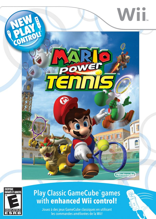 New Play Control! Mario Power Tennis - Nintendo Wii [USED]