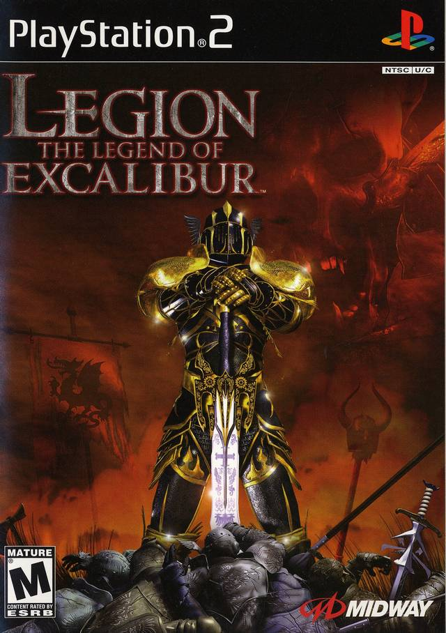 Legion: The Legend of Excalibur - PlayStation 2