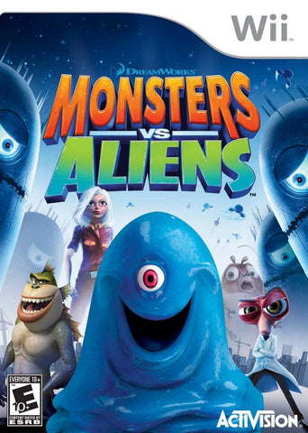 Monsters vs. Aliens - Nintendo Wii [USED]
