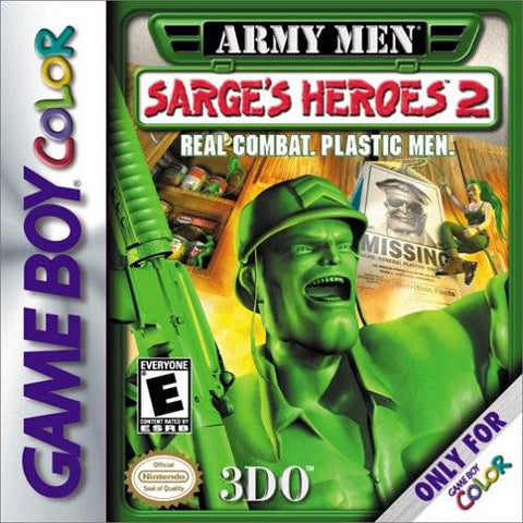 Army Men: Sarge's Heroes 2 - Game Boy Color [USED]