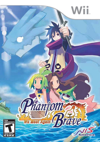 Phantom Brave: We Meet Again - Nintendo Wii [USED]