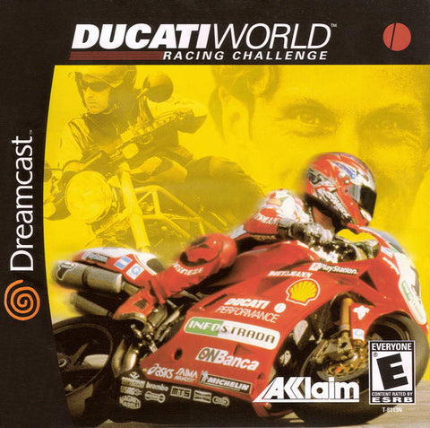 Ducati World Racing Challenge - SEGA Dreamcast (RAC, 2001) [USED]