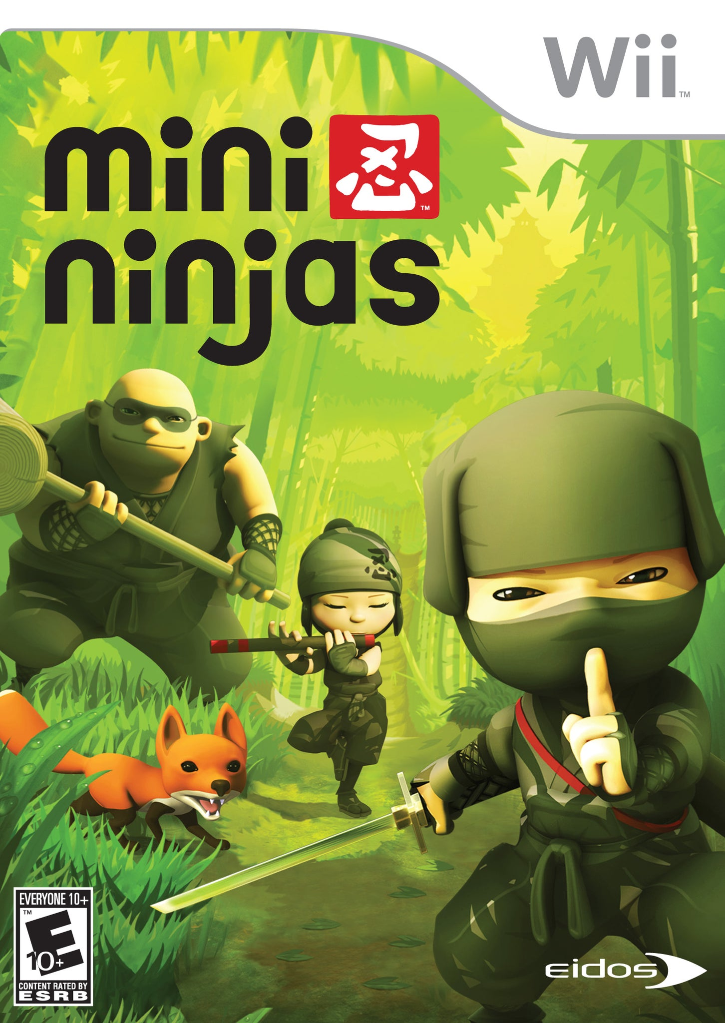 Mini Ninjas - Nintendo Wii [USED]