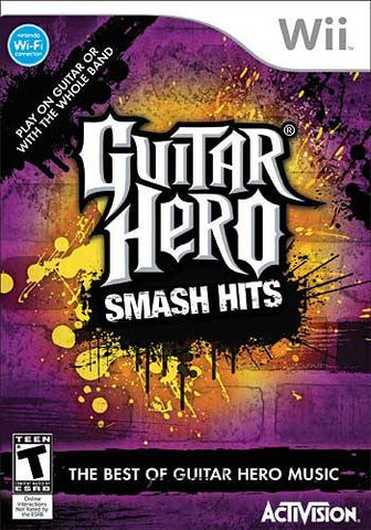Guitar Hero: Smash Hits - Nintendo Wii [USED]