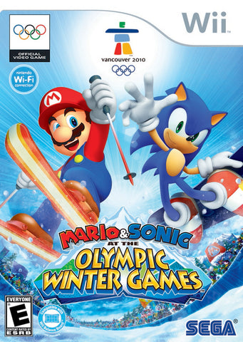 Mario & Sonic at the Olympic Winter Games - Nintendo Wii [USED]