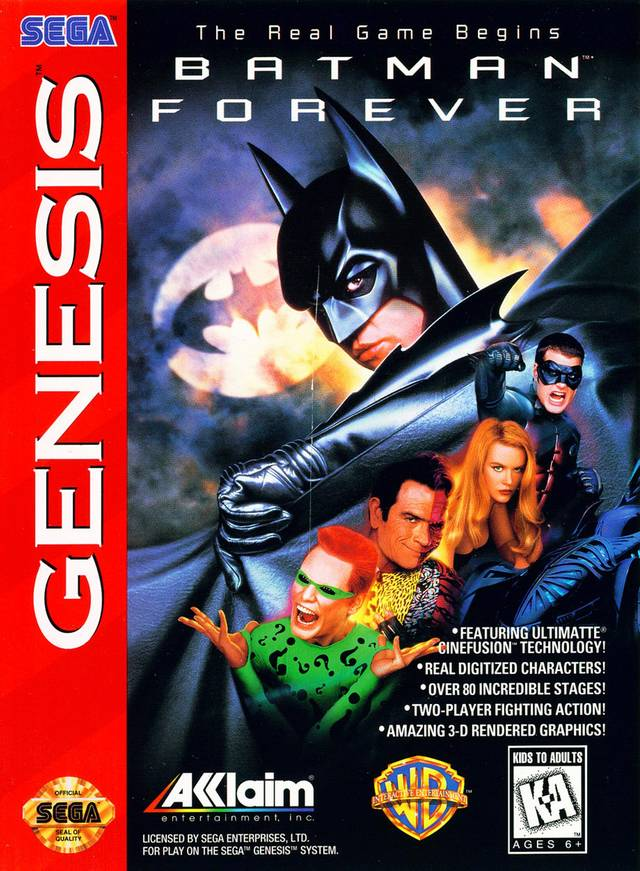 Batman Forever - SEGA Genesis [NEW]