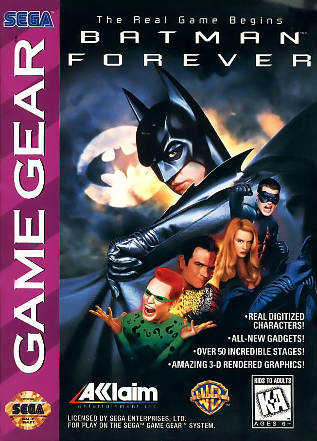Batman Forever - SEGA GameGear [USED]