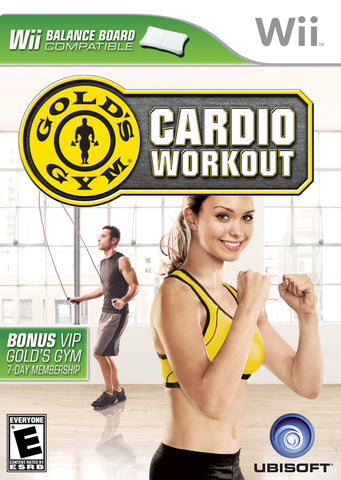 Gold's Gym: Cardio Workout - Nintendo Wii [USED]