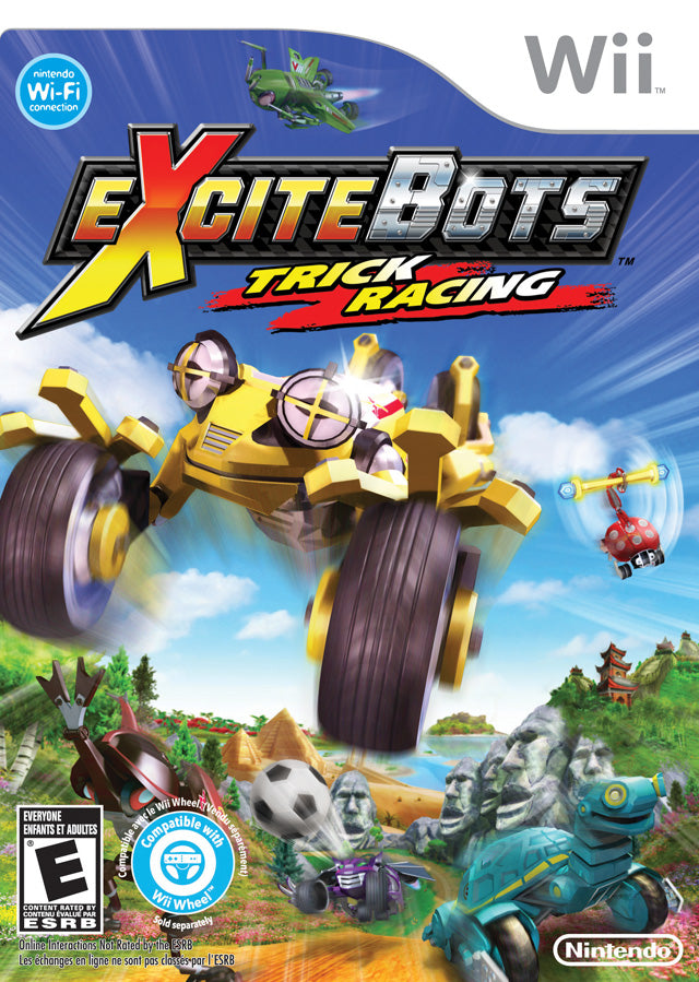 Excitebots: Trick Racing - Nintendo Wii [USED]