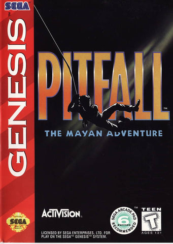 Pitfall: The Mayan Adventure - SEGA Genesis [USED]