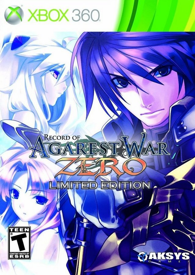 Record of Agarest War Zero (Limited Edition) - Xbox 360
