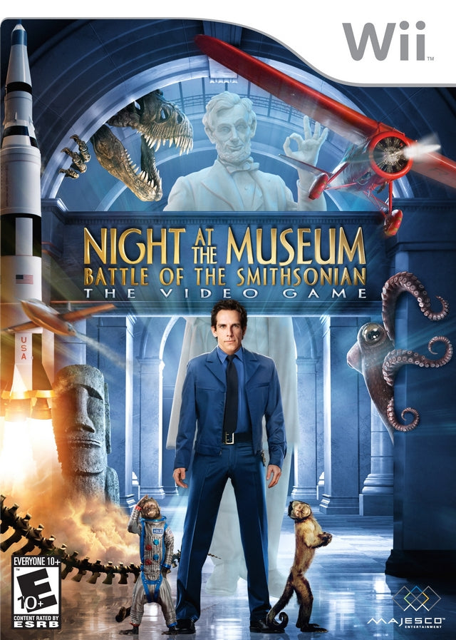 Night at the Museum: Battle of the Smithsonian - Nintendo Wii [USED]