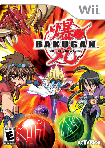 Bakugan Battle Brawlers - Nintendo Wii [USED]