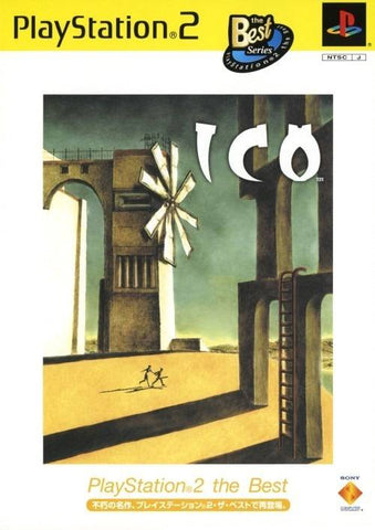 ICO (PlayStation 2 the Best) - PlayStation 2 (Japan)