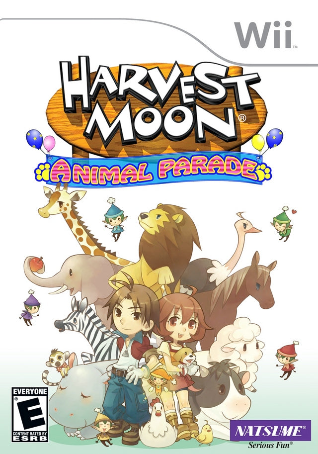 Harvest Moon: Animal Parade - Nintendo Wii [NEW]