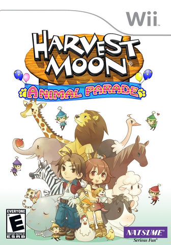 Harvest Moon: Animal Parade - Nintendo Wii [USED]