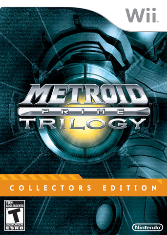 Metroid Prime Trilogy (Collector's Edition) - Nintendo Wii [USED]