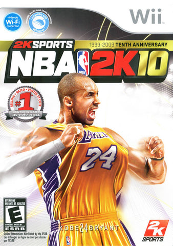 NBA 2K10 - Nintendo Wii [USED]