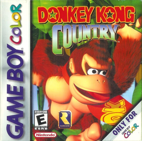 Donkey Kong Country - Game Boy Color [USED]