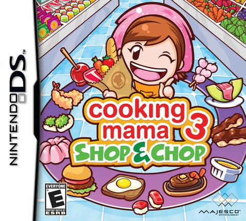 Cooking Mama 3: Shop & Chop - Nintendo DS