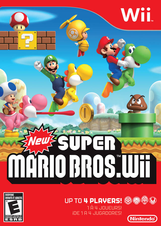 New Super Mario Bros. Wii - Nintendo Wii [NEW]