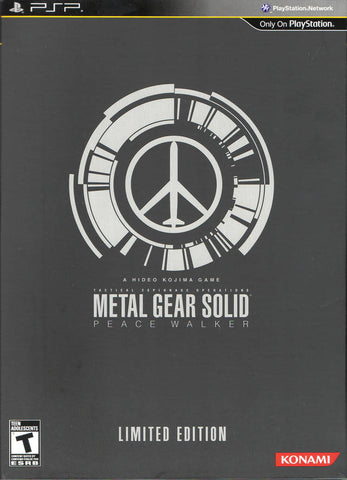 Metal Gear Solid: Peace Walker (Limited Edition) - PSP