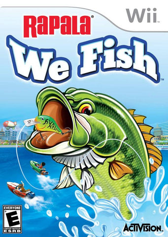 Rapala: We Fish - Nintendo Wii [NEW]