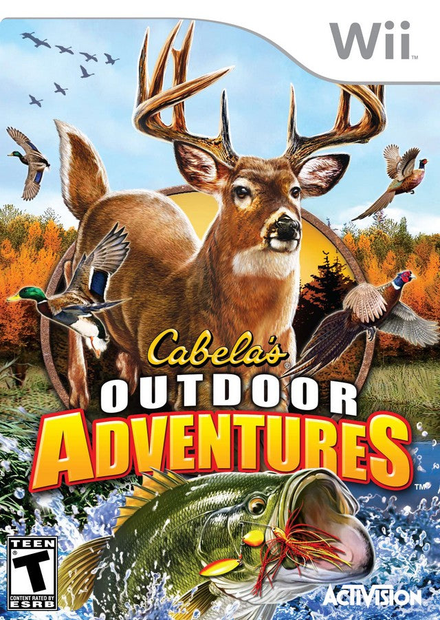 Cabela's Outdoor Adventures - Nintendo Wii [USED]