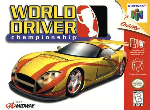 World Driver Championship - Nintendo 64 [USED]