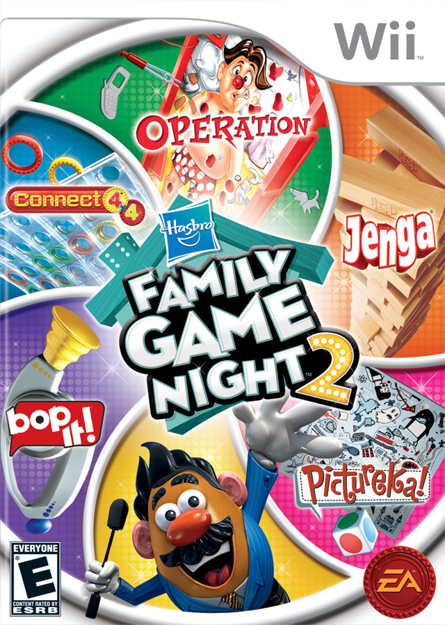 Hasbro Family Game Night 2 - Nintendo Wii [USED]
