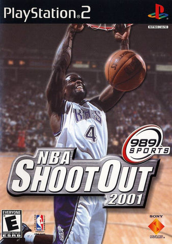 NBA ShootOut 2001 - PlayStation 2
