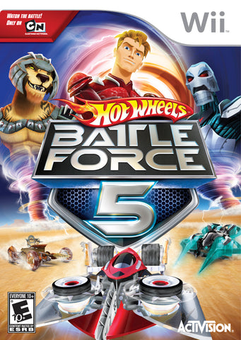 Hot Wheels: Battle Force 5 - Nintendo Wii [USED]